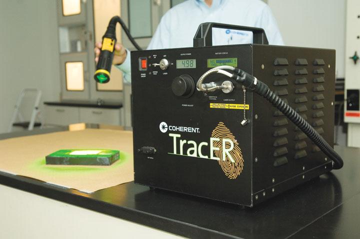 Crime-Fighting Laser Beams