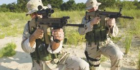 FN's SCAR Rifle Offers Heavy Punch, Light Recoil