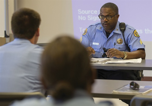 The NOPD teaches its new Ethical Policing is Courageous (EPIC) program via a curriculum that is a mix of peer intervention science, skills, and strategies. Photos: New Orleans PD