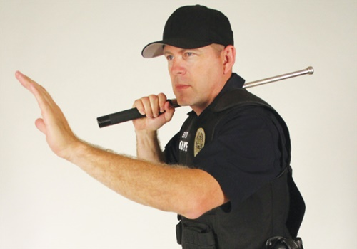 Many law enforcement officers no longer carry a baton, but it is still a very useful tool. The baton gives officers another effective force option. (Photo: Peacekeeper Products International)