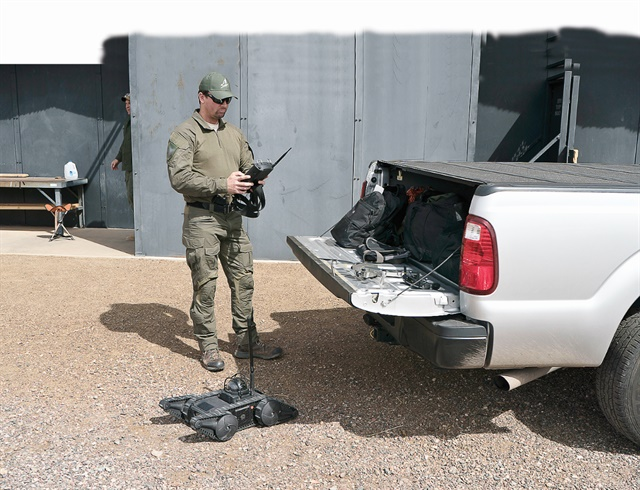SWAT teams have numerous tools for missions, but veteran operators caution that it's wise to have a backup plan for when the tech fails. (Photo: Franklin Rau)