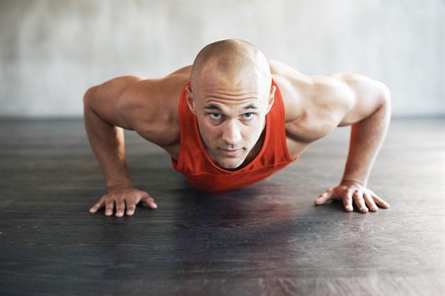 High-intensity functional movement training helps you effectively do your job. Photo: Hans Halberstadt