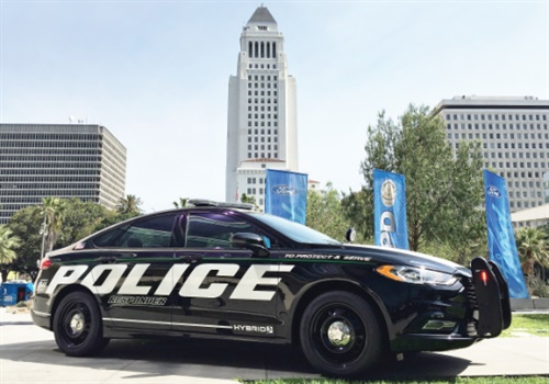 Ford currently offers a Hybrid Police Responder pursuit vehicle. In the future, we can expect more hybrid vehicles for law enforcement from the Big Three. Photo: Thi Dao