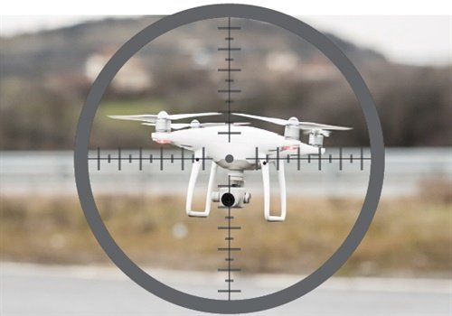 Deploying counter-drone technology by force to disrupt a drone's flight (including interfering with the operator of a drone) is potentially an act of aircraft piracy. (Photo: Getty Images)