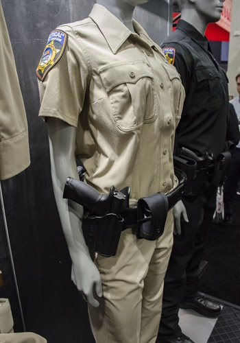 5.11 Tactical introduced its new Class A uniforms produced with Woolmark. (Photo: Michael Hamann)
