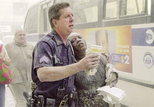 Sgt. Marty Duane of the Port Authority Police Department was one of the many first responders who helped rescue people at the World Trade Center on 9/11. Photo: Newscom.
