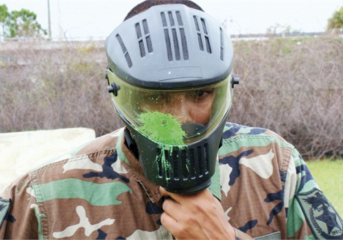 Paintball is one way to get immediate training feedback.  