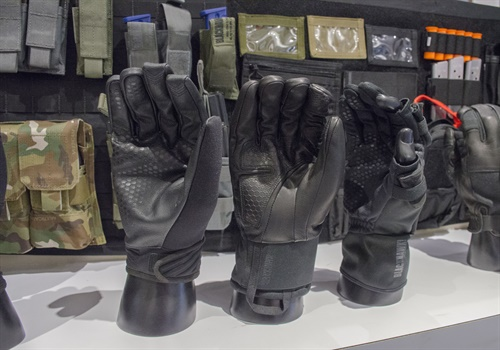 Blackhawk's new Patrol gloves were designed for different law enforcement missions. They are touch screen compatible. (Photo: Michael Hamann)