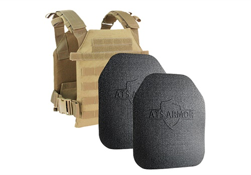 ATS Armor's Active Shooter kit is a carrier and two lightweight plates that can protect the first responders to critical incidents from rifle fire.