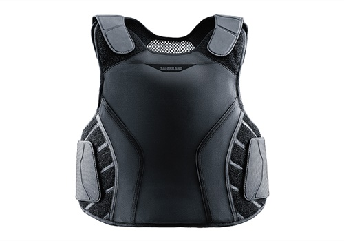 The SX package can fit any of Safariland's new collection of armor carriers, including the P1 (pictured).