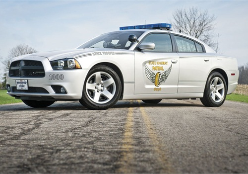 The Ohio State Highway Patrol's Dodge Charger Pursuit. Photo: OSHP