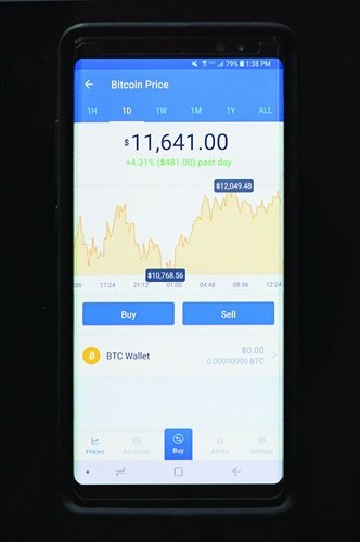 Example of a Bitcoin wallet. (Photo: Aaron Strain)