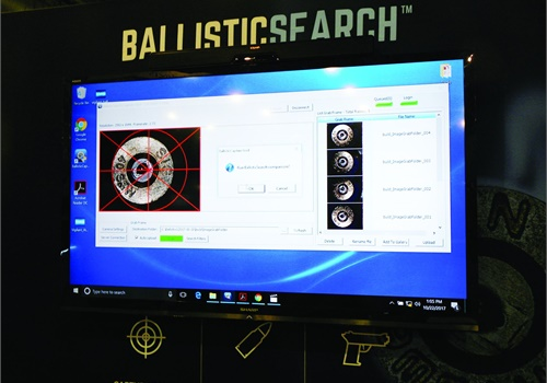 Vigilant Solutions introduced BallisticSearch, a new tool designed to help law enforcement investigators quickly match cartridge casings to guns.