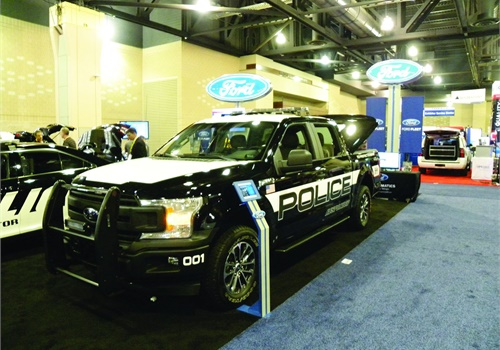 Ford's new 2018 F-150 Police Responder is based on the F-150 SuperCrew and pursuit rated. It has a top speed of 100 mph.