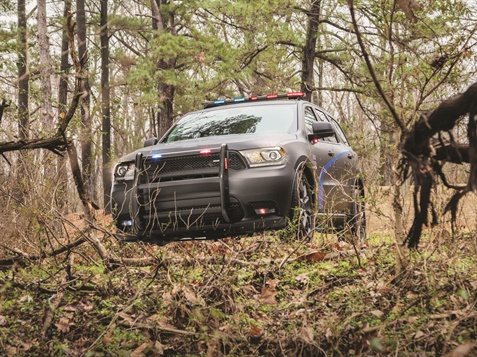 The 2019 Dodge Durango has an active transfer case for better low range traction during off-road driving. (Photo: Dodge)