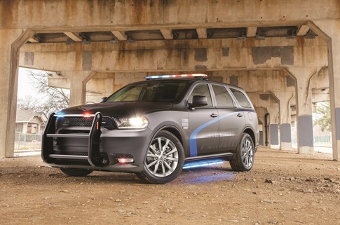 The 2019 Dodge Durango Pursuit features  a new front end design that helps cool the brakes during intense driving. (Photo: Dodge)