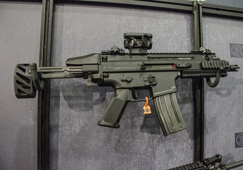 FN's SCAR-SC is a select-fire 5.56mm NATO subgun based on the full-sized SCAR rifle. (Photo: Michael Hamann)