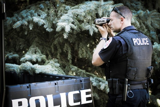 The FLIR Scout III is a great example of an affordable, round-the-clock handheld thermal imaging unit that is simple to use and a true game-changer for public safety officials.