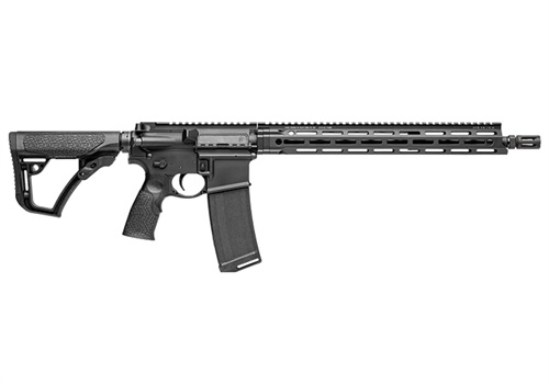 The Daniel Defense V7 is the company's first rifle to feature M-LOK attachment technology.