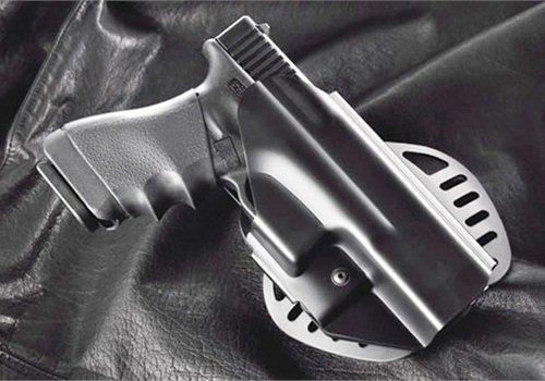 Hogue's PowerSpeed Polymer Formerd Retention Holster