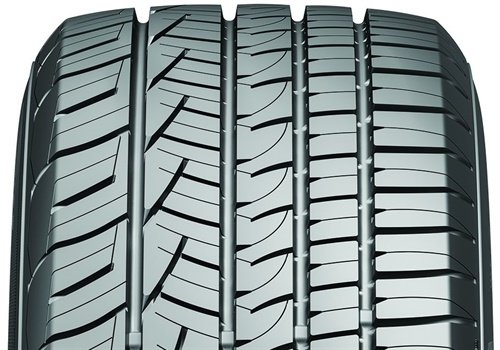 A closeup of the tire's tread. (Photo: General Tire)