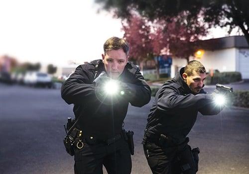 First Tactical Small and Medium TriTac Flashlights