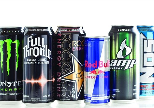 According to the FDA, 400 milligrams per day — about the equivalent of three to five cups of coffee — is a safe amount of caffeine for an average, healthy adult. Some energy drinks, however, can go as high as 570 milligrams of caffeine in a single serving. Photo: Getty Images
