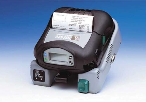 Zebra's RW 420 printer