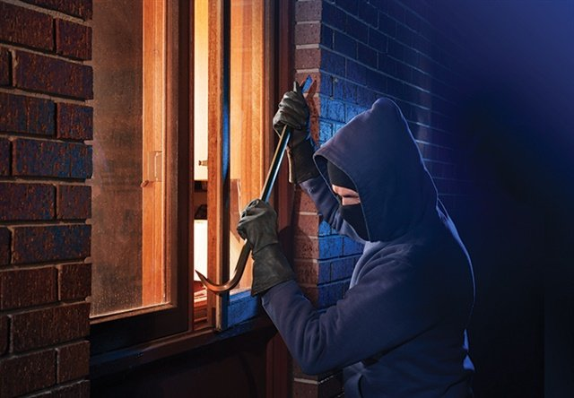First, you need to establish if you're investigating a burglary (or other crime) in progress, or if the incident has ended. Photo: StockPhoto.com