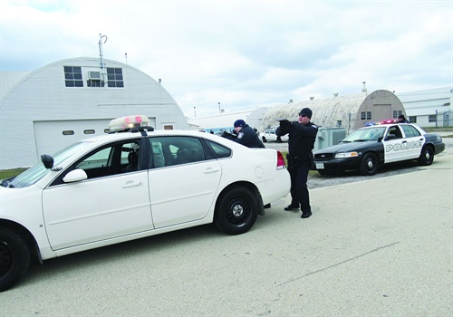 Officers should give loud, clear commands to the vehicle's occupants. (Photo: Michael Schlosser)