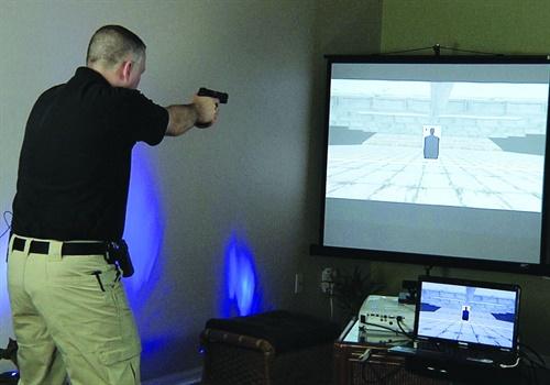Laser Ammo USA's Smokeless Range (Photo: Laser Ammo)