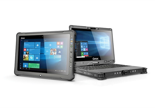 GetacF110 Fully Rugged Tablet and V110 Fully Rugged Convertible