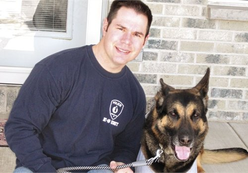 Officer Ryan Williams and K-9 Grendel, Fond du Lac (Wis.) PD