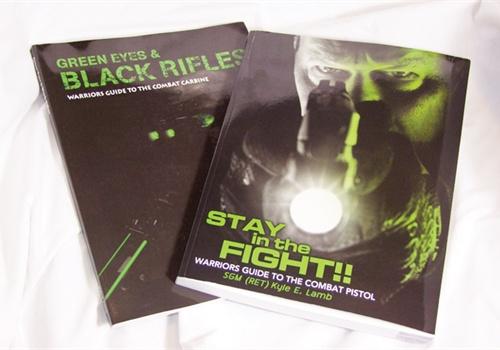 5.11 Tactical/Viking Tactics' training books. Photo: Scott Smith.