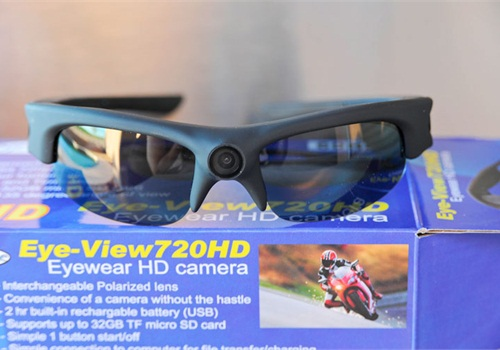 Police Product Test  Eye of Mine HD Video Camera Sunglasses ... f9ec0bd7e7