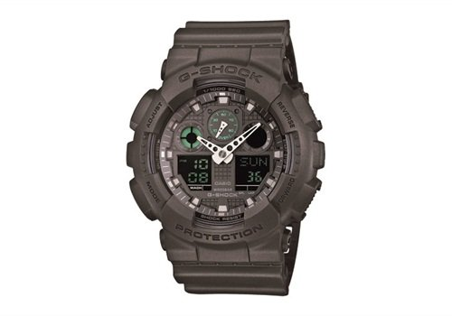 G-Shock watch GA100MB-1A (Photo: Casio)