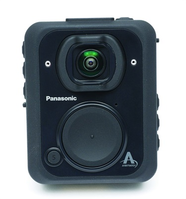 Panasonic Arbitrator Body Worn Camera (Photo: Panasonic)