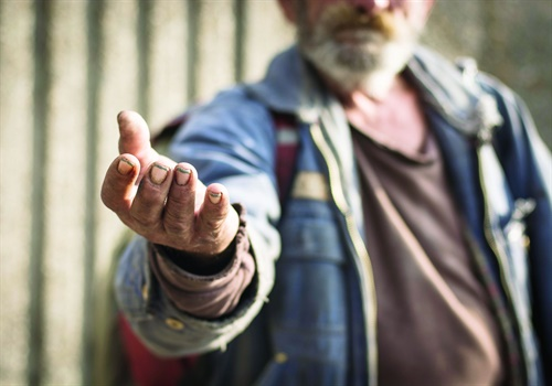 Homeless people, says Dowd, often have traits, ideas, and characteristics that are similar to ours and yet widely different.Photo: Getty Images