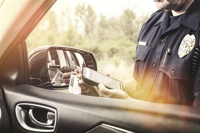 Law enforcement agencies are deploying mobile devices to ensure that officers are equipped with the most up-to-date information. (Photo: Panasonic)