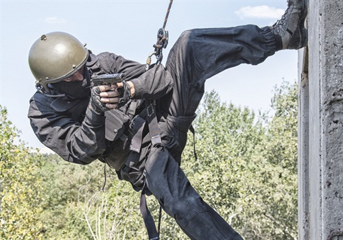 military rappelling rope