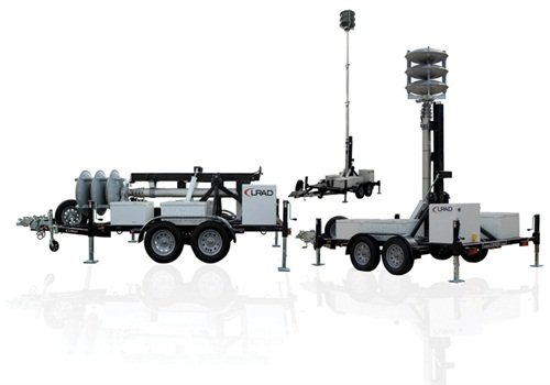 LRAD 360X Mobile Mass Notification System