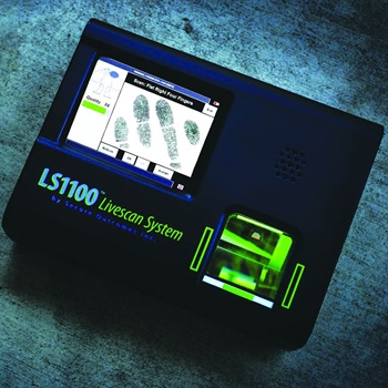 Secure Outcomes Inc. LS1100 Digital Livescan System (Photo: Secure Outcomes)
