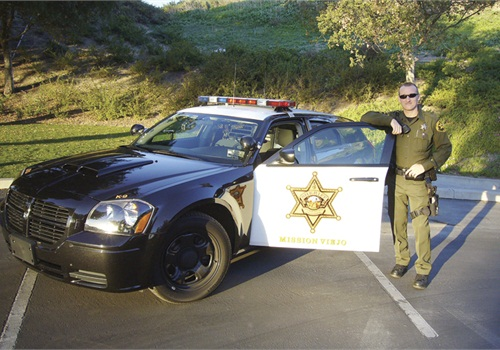 Orange County (Calif.) Sheriff's Dep. Richard Olszynski was featured in October 2010. Photo: POLICE file