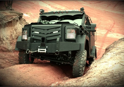 The B.A.T.T. vehicle from the Armored Group.