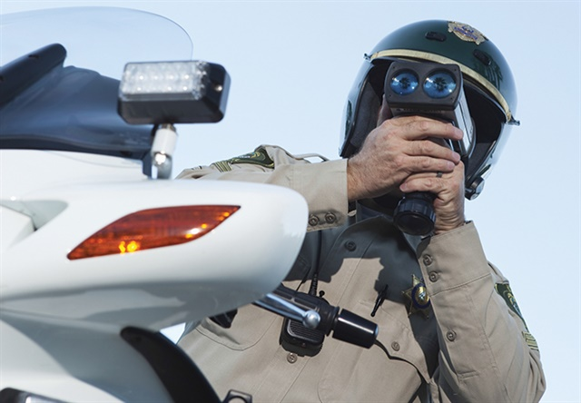 Motorcycles can be a very effective tool for traffic enforcement because they are hard to see and can chase down any speeding car.Photo: ©istockphoto.com.