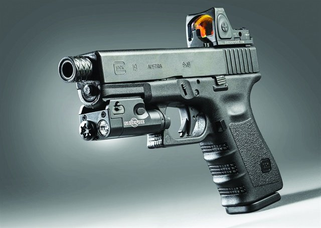 The SureFireXC line of weapon lights was designed for concealed carry pistols like the Glock 19.