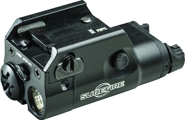 SureFire's new XC2 concealed carry weapon light features a laser sighting system.