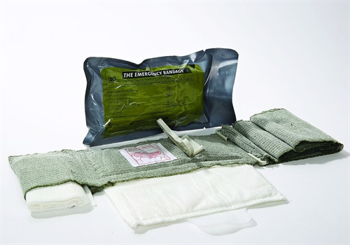 The Emergency Bandage has been credited with saving the lives of many service men and women in law enforcement and military operations. (Photo: PerSys Medical)