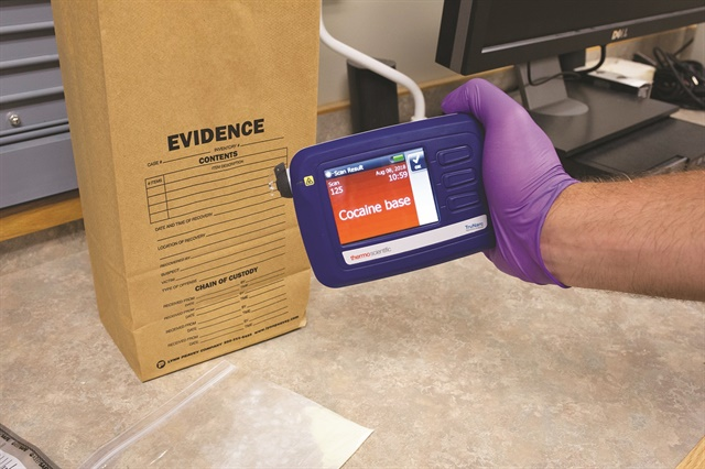 TruNarc Handheld Narcotics Analyzer (Photo: Thermo Fisher Scientific)