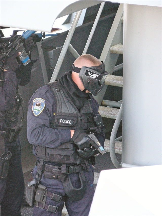 Force-on-force training scenarios are useless if the officers don't take them seriously and instead play paint ball.